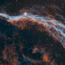 NGC6960 - the broom stick - large field,                                Arnaud Peel