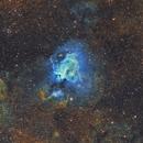 M17 - Omega Nebula (Hubble Palette),                                Diego Cartes