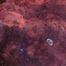 Ngc 6888- la nébuleuse du croissant HOO,                                astromat89