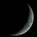 Twilight Waxing Crescent to Dark Sky Image,                                Steve Lantz