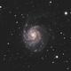 M101 - Pinwheel Galaxy,                                Invatorke