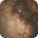 Large Sagittarius Star Cloud, M 8 and M 20,                                JuergenB