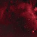 IC2177 Seagull Nebula in Ha,                                equinoxx
