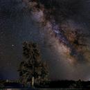 Milky Way near Bend, OR,                                DSA101