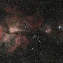 Mosaico región Carina,                                Cosmonauta