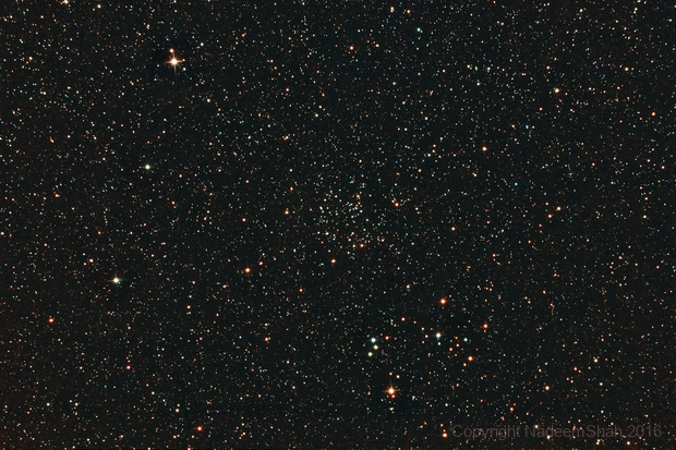 NGC 6811 Open Star cluster in Cygnus,                                Nadeem Shah