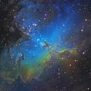 Eagle Nebula (M16) and the Pillars of Creation,                                Rathi Banerjee