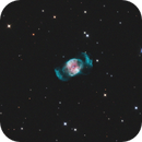 """NGC2371, """"a Sweet"""" :-), Peanut- or Gemini-Nebula and Asteroid 81 Terpsichore!,                                Rolf Dietrich"""