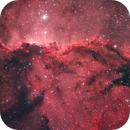 NGC 6188 The Fighting Dragons in Ara,                                James Baguley
