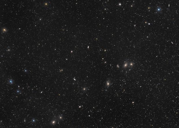 A multitude of galaxies,                                Przemysław Majewski & teleskopy.pl