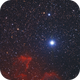 IC 63 and Navi in Cassiopea,                                Andres Noriega