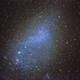 Small Magellanic Cloud with Globular cluster NGC 362 lower left.,                                Mark Sansom