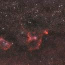 LRGB Version 2 von Herz-Nebel NGC 896 und Seelen-Nebel IC 1848,                                Matthias Groß