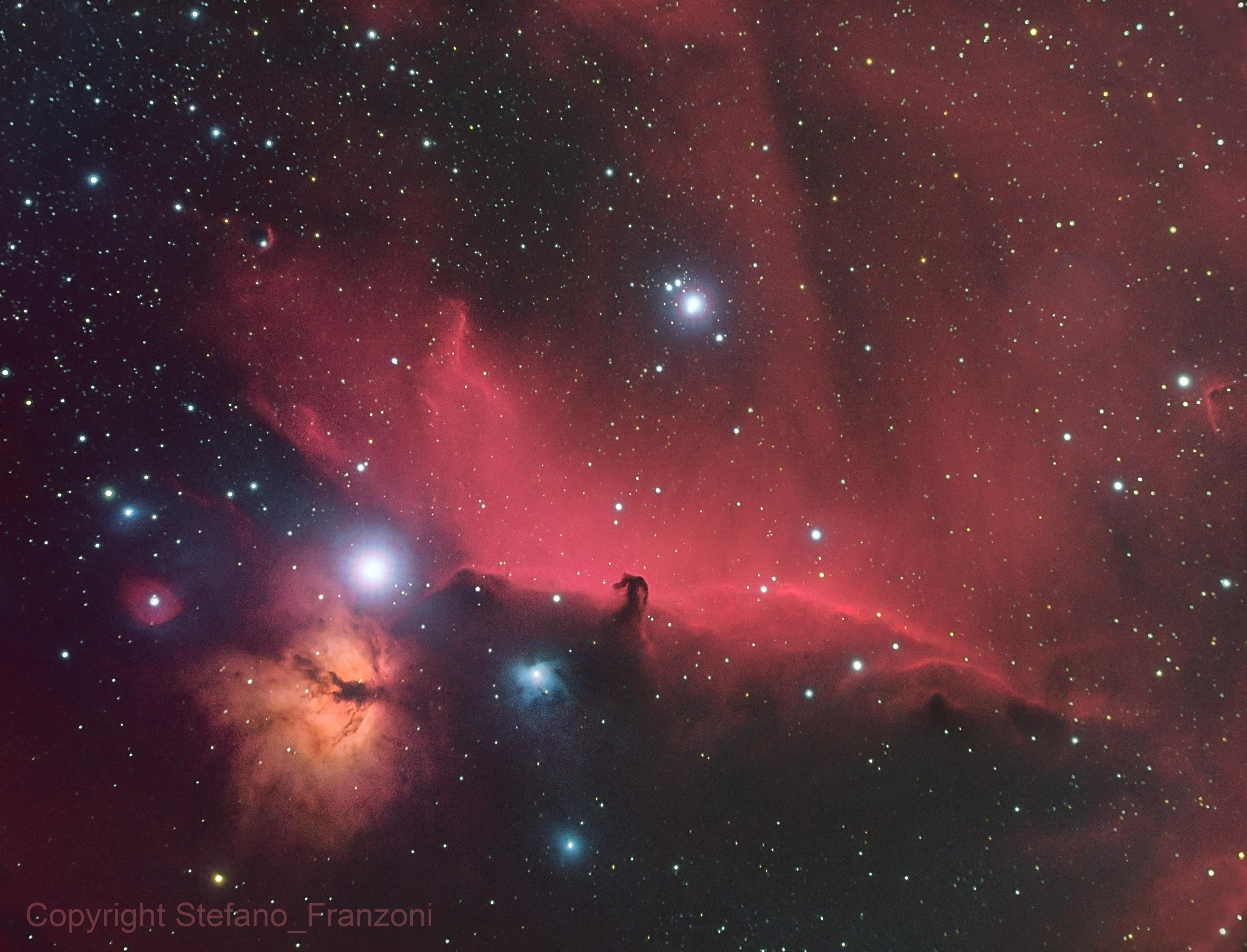 IC434_B33_NGC2023,                                Stefano Franzoni