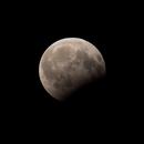Partial Lunar Eclipse 07.08.2017,                                Oliver Czernetz