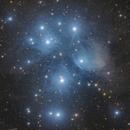 M45 Pleiades,                                Piero Venturi