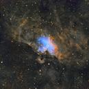Eagle Nebula Narrowband SHO,                                BobbyVasile