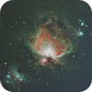 Orion Nebula and running man CLS,                                Ata Faghihi Mohad...
