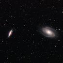 M81 & M82,                                AstroBadger