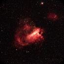 Nebulosa Rosetta  (Filtro Halpha 12nm) Joint Image con Fernando De Ronzo ,                                Gianluca Belgrado