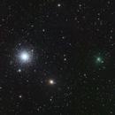 Comet C/2020 T2 Palomar and M 3,                                José J. Chambó
