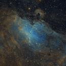 M16 The Eagle Nebula SHO and HOO,                                Michael Feigenbaum