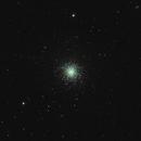 M13 Hercules Cluster (1st week of astrophotography),                                Jordan Lawrence
