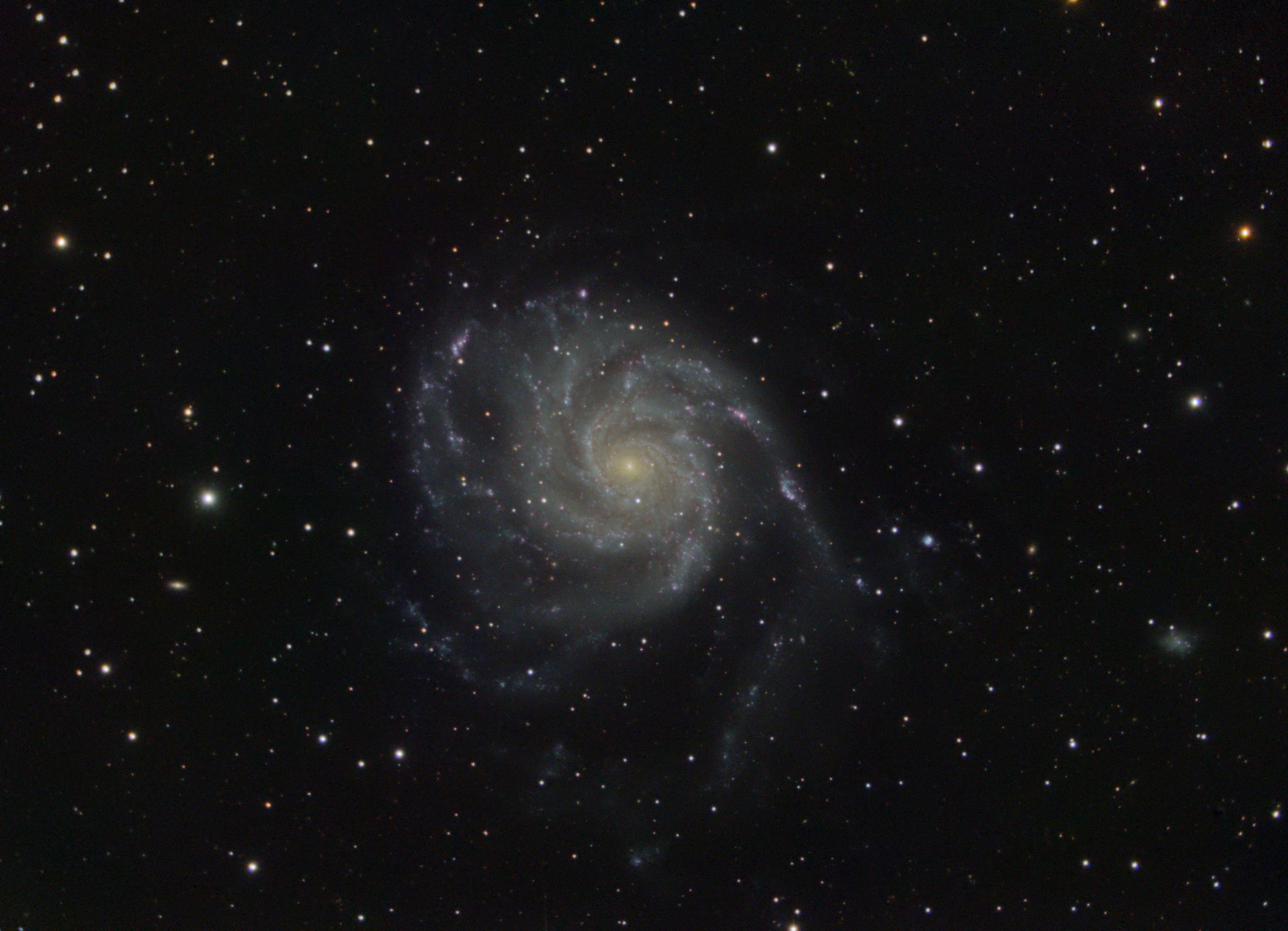 M101 - Messier 101 - Pinwheel Galaxy (NGC 5457),                                Oleg Zaharciuc