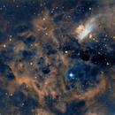 NGC6357 War and Peace Nebula,                                Westcoastnz