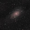 M33 La galaxie du triangle,                                nunux1971