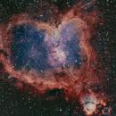 heart nebula,                                angelo mazzotti