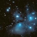 Messier 45 (The Pleiades Cluster),                                rupeshvarghese
