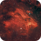 Pelican Nebula-IC 5070,                                Carlos Tejeda