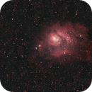 Lagoon Nebula, M8,                                Lee Morgan