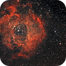 Rosette Nebula,                                JD