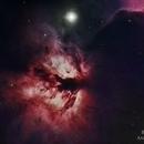Flame Nebula,                                Rodrigo Andolfato