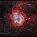 Rosette Nebula RGBHOO,                                Johannes Bock