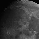 Mare Imbrium, 73% waxing moon,                                turfpit