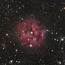 IC 5146 - Cocoon Nebula - full RGB,                                Rodolphe Goldsztejn
