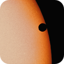 Venus Transit of the Sun of June 5, 2012 at Third Contact,                                Jim Lindelien