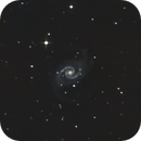 NGC 1566, a quick attempt with a new 3x barlow,                                chaosrand