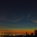 Comet Neowise über Rheinebene,                                Christian Höferlin