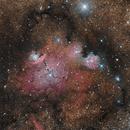 NGC 6559 Emission Nebula in Saggitarius 20210518 8400s LRGB 01.3.3,                                Allan Alaoui