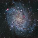 Messier 33,                                Manel Martín Folch