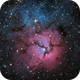 The Trifid Nebula in One Shot Color,                                Alex Roberts