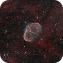 NGC 6888 - Crescent Nebula,                                David Andra