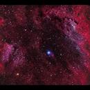 Center of SH2-119 Clamshell Nebula,                                Göran Nilsson