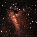 M17 Swan Nebula,                                JT