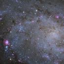 Inside M33 aka Triangulum Galaxy revisited,                                Przemysław Majewski & teleskopy.pl