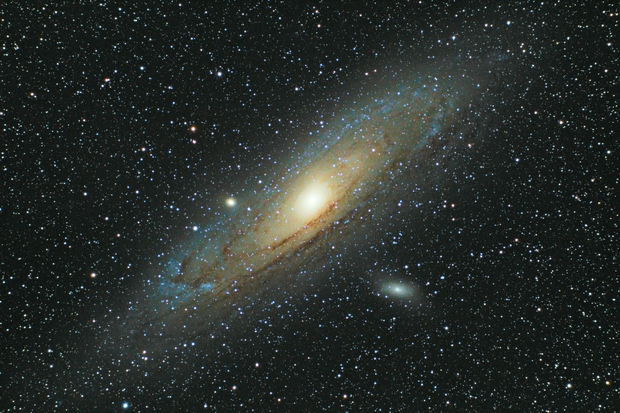 Adromeda Galaxy, Evostar 72ED on guided Star Adventurer Mount,                                Nico Augustin